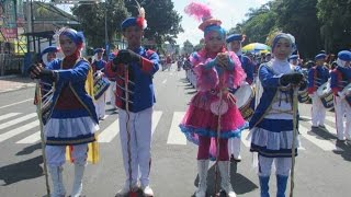 DrumBand SMP N 24 Purworejo in National Education Day Commemoration 2017