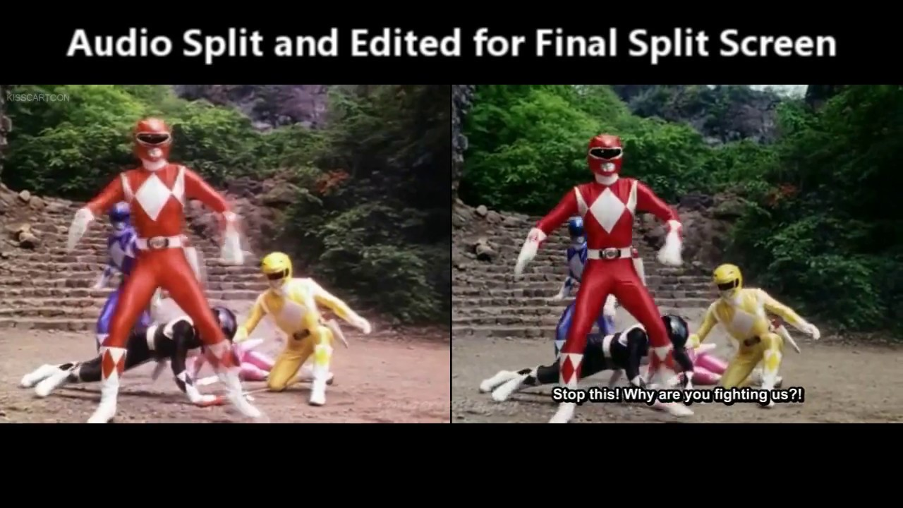Power Ranger and Super Sentai Split Screen Comparison Editing Part II by  rangersentaiguy