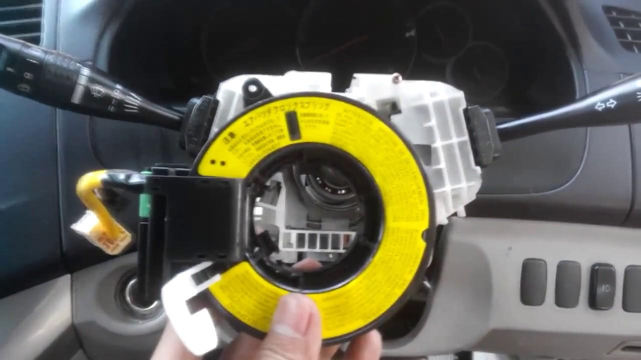 2002 Mitsubishi Lancer Wiring Diagram Trailer Electrical Plug Installing Srs Clockspring Grandis - Youtube