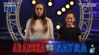 Fenómeno Fan (T2) | Duelo super igualado entre Arancha y Nayra