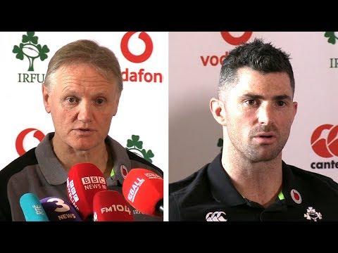 Joe Schmidt & Rob Kearney Pre-Match Press Conference - Ireland v Scotland - Six Nations