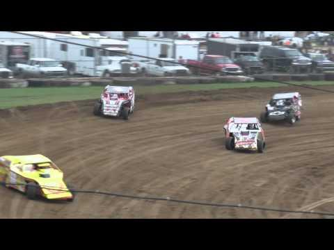Ryan Sterling Heat Race Win Brownstown Speedway 8-16-14
