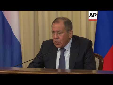 Lavrov warns Western nations against military action in Syria