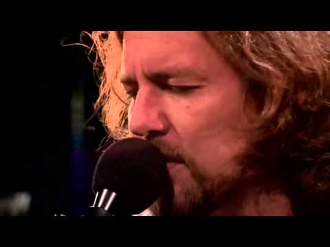 Eddie Vedder Girl From The North Country Bob Dylan Cover Youtube