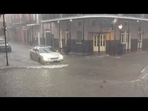New Orleans Hit With Flooding Ahead Of Tropical System