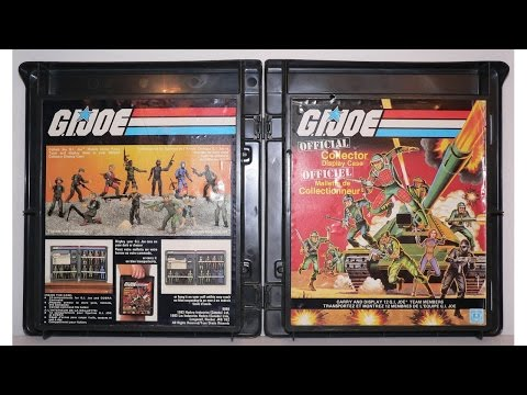 1983 G.I Joe Collectors Display Case review
