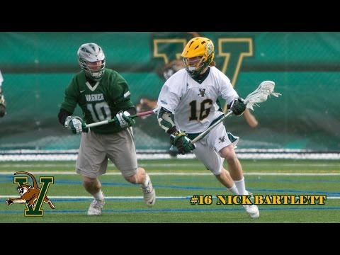 2014 UVM LAX #16 Nick Bartlett Highlight