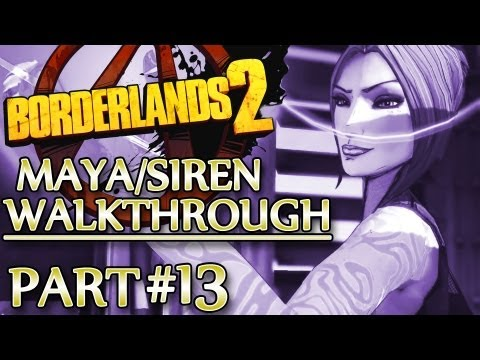 Ⓦ Borderlands 2 Maya/Siren Walkthrough - Part 13 ▪ Wilhelm, Assorted Stuff