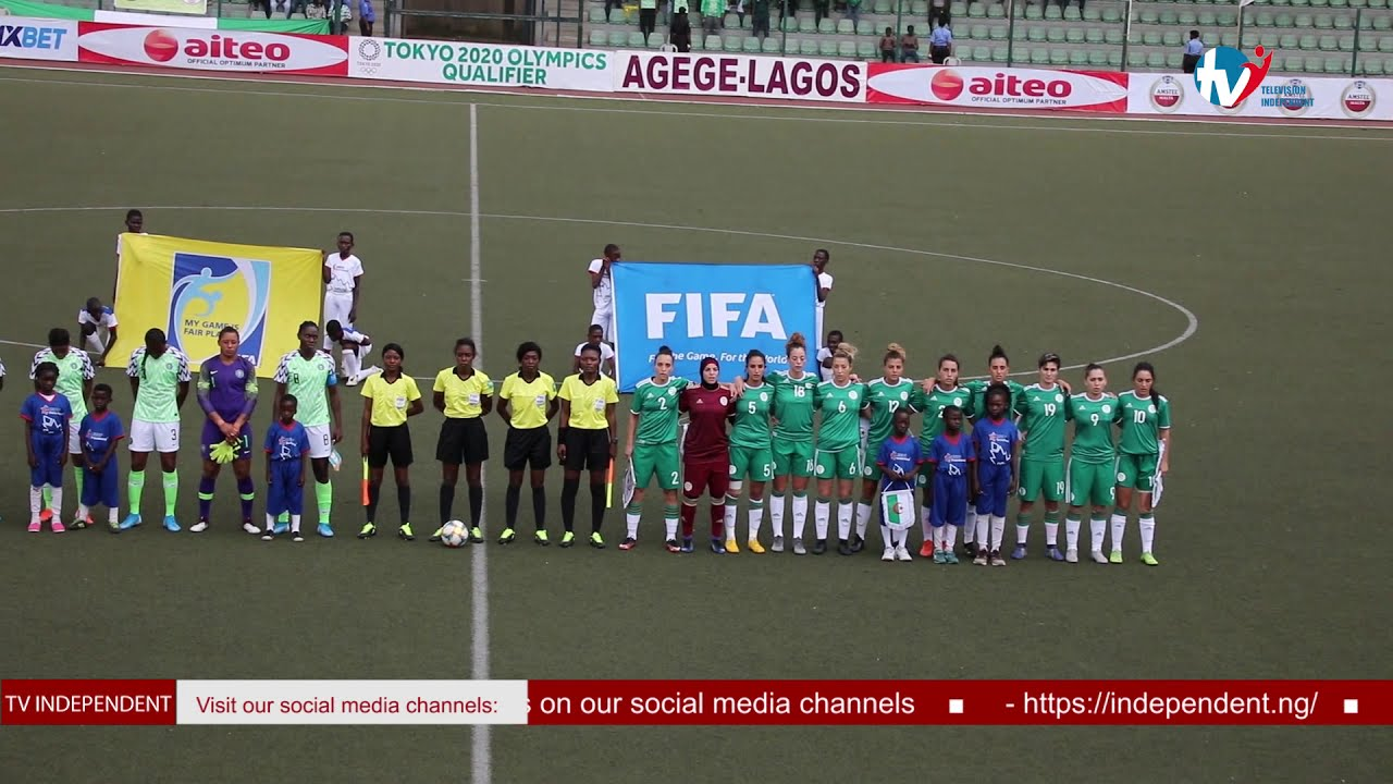 Download HIGHLIGHTS - Super Falcons Of Nigeria Against The Fennecs Of Algeria | TV Independent