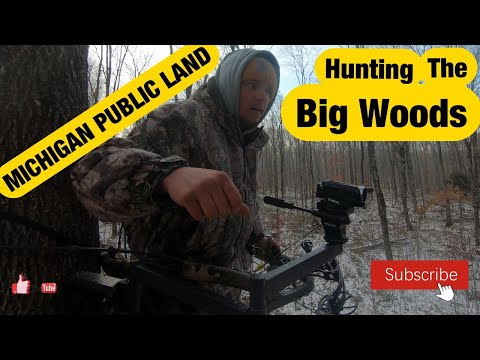 Michigan Public Land - Hunting The Big Woods Of The U.P.
