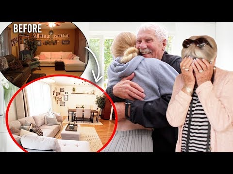Surprising My Grandparents