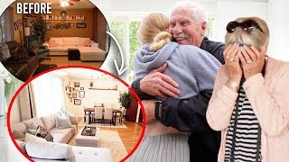 Download Surprising My Grandparents Transforming Their Old House to New!! Mp3 and Videos
