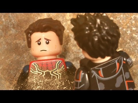 Lego Avengers Infinity War Spider-Man I don't feel so good Lego Stop Motion
