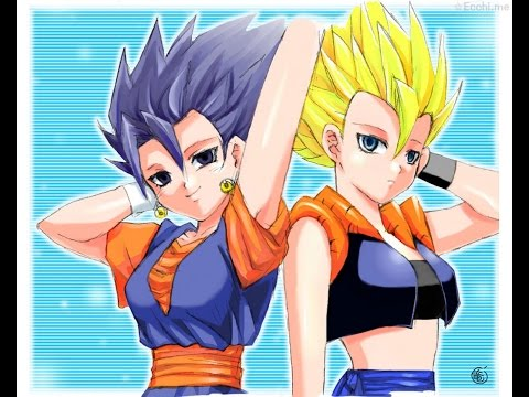 Dragon ball Z characters - Female version