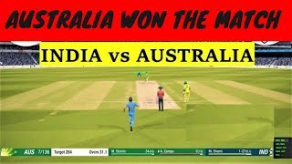🔴 INDIA V AUSTRALIA | 1st ODI 2nd Inning | LIVE SCORES and DISCUSSION - Cricket 19 Live
