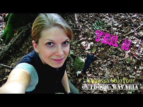 Vanessa Solotour - Übernachtung im Herbstwald - Teil II - Outdoor Bavaria