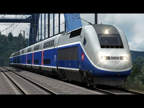 train simulator 2016 tgv atlantique doovi. Black Bedroom Furniture Sets. Home Design Ideas