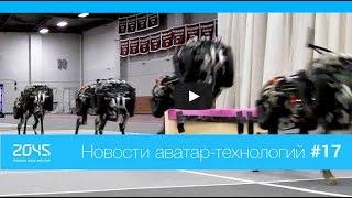 #17 Новости аватар-технологий / Робот Cheetah, орнитоптер, робот-оригами, DARPA Robotics Challenge