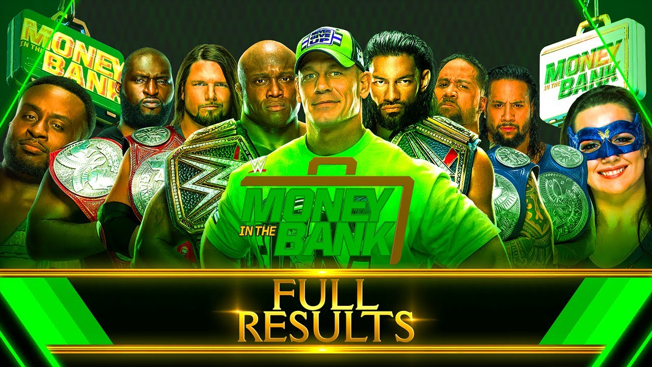 Full WWE Money in the Bank 2021 Results