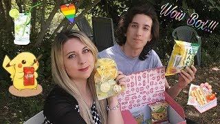 WOW BOX!!! Assaggiamo snack Giapponesi col mio ragazzo!!!