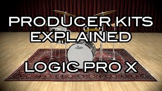 Logic Pro X - Producer Kits Explained - Take Your MIDI Drums to the Next Level!