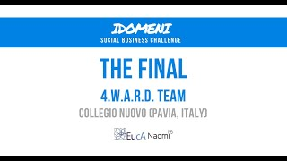IDOMENI Social Business Challenge | The Final | 4.W.A.R.D Team Presentation