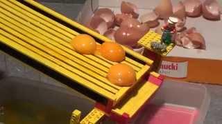 LEGO : Eier - Trennvorrichtung , eggs separating apparatus  Breakfast Machine by üfchen