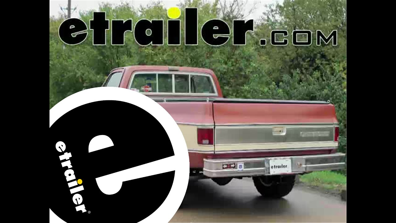 hight resolution of trailer hitch installation 1978 chevrolet ck series pickup draw tite etrailer com