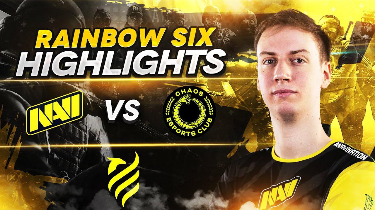 Rainbow Six Highlights: NAVI vs Chaos @ European League Season 1