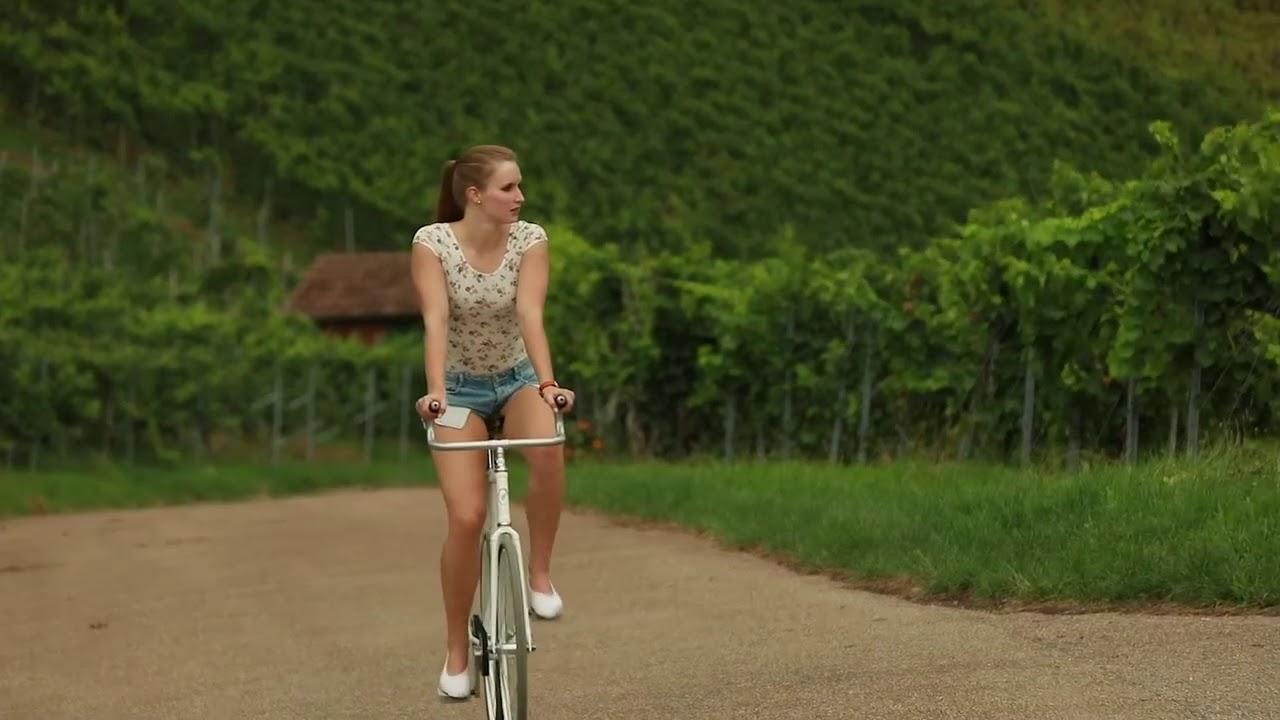 Viola Brand Girl On Bike Youtube
