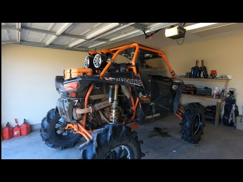 We Built the Rzr Too Big! - Wont Fit Out of the Garage