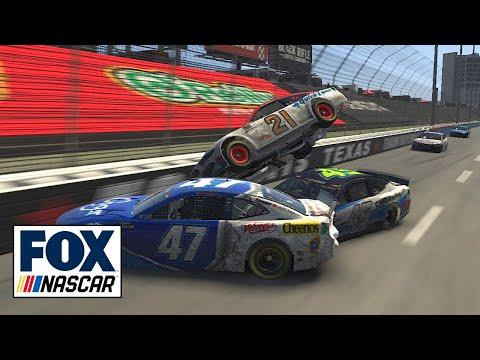 "Radioactive - Virtual Texas: ""Of course it was Stenhouse..."" | NASCAR ON FOX"