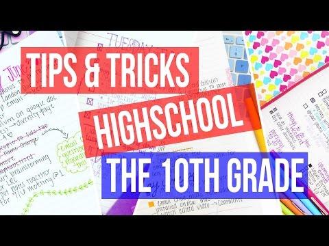 TIPS & TRICKS ♡ HIGH SCHOOL: 10th GRADE