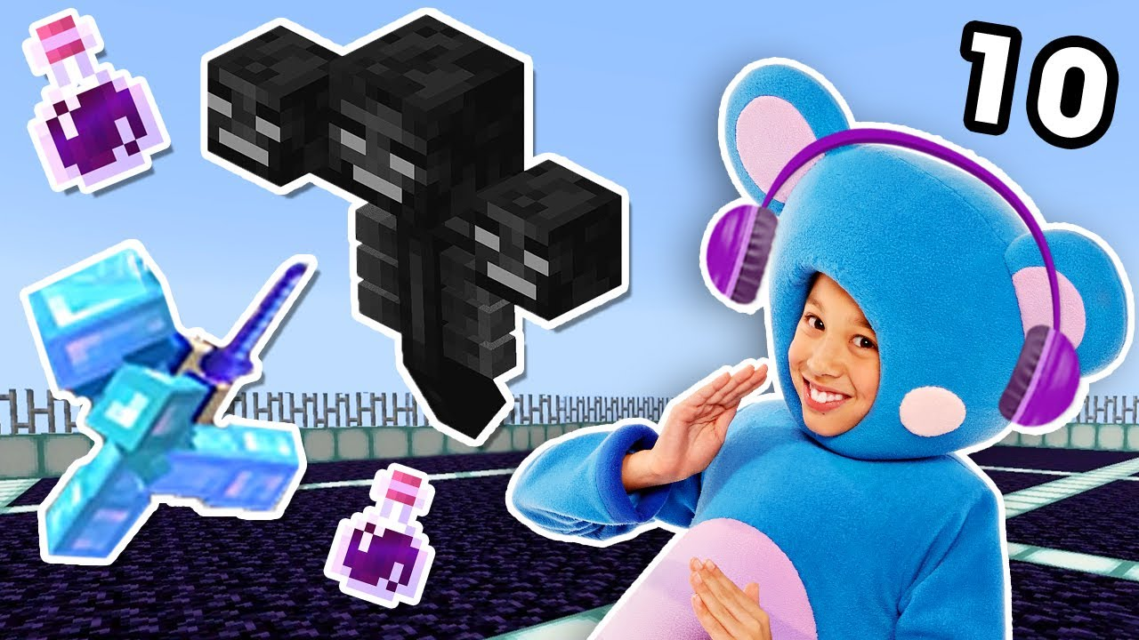 The WITHER BATTLE BEGINS | Minecraft Wild Goose Chase EP10 | Mother Goose Club Let's Play
