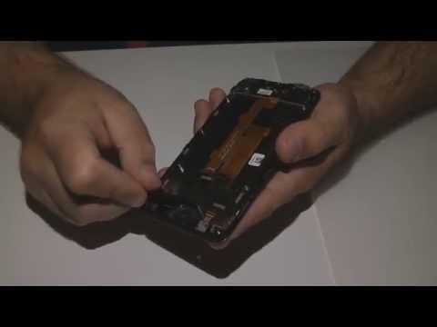 Smontaggio touchscreen vodafone smart prime 6 VF-895N