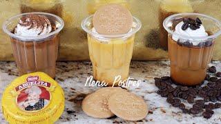 Para Negoció 💸 Flanes 🍮 SIN HORNO 3 sabores diferentes! pocos Ingredientes!