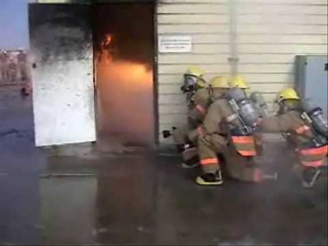 Official Louis F Garland Fire Academy video - YouTube