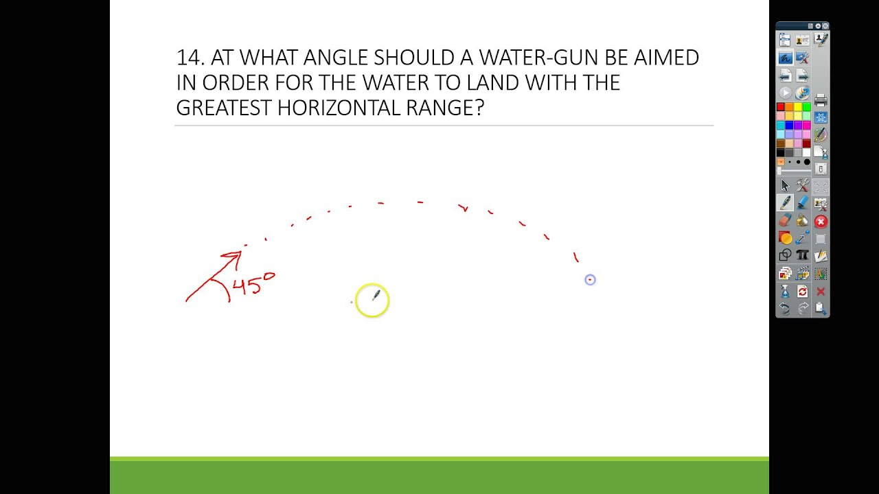 Projectile Motion Concepts 11-20 - YouTube