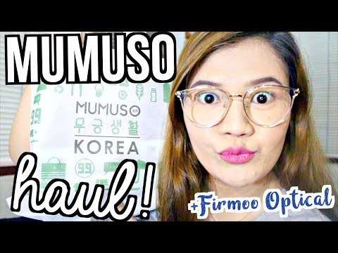 MUMUSO KOREA HAUL & STORE TOUR!!! + FIRMOO OPTICAL (Philippines) ♡ | makeupbykarlamisa