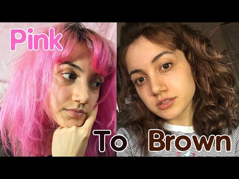 From Pink Hair To Brown ❤
