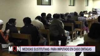 02/07/2015-18:49 MEDIDAS SUSTITUTIVAS  PARA IMPUTADO EN CASO EMTAGAS