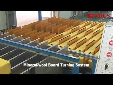 KINDUS - Mineral(Rock)-wool Sandwich Panel Line