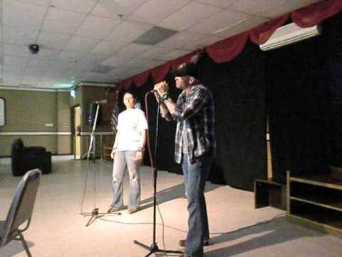 I told you so , Karaoke cover By Tony Williams and Amber Kazarian
