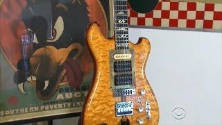 "Grateful Dead guitar ""Wolf"" sold in auction for $1.9 million"
