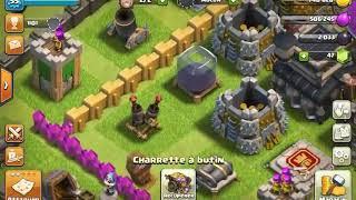 Truc de ouf sur mon compte (clash of clans) prema