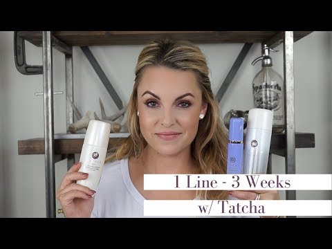 1 Skincare Line ONLY for 3 Weeks || Is it worth it Tatcha - Elle Leary Artistry