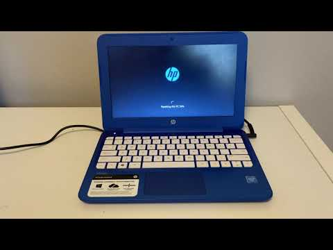How to restore HP Stream 11 /14 Laptop - YouTube