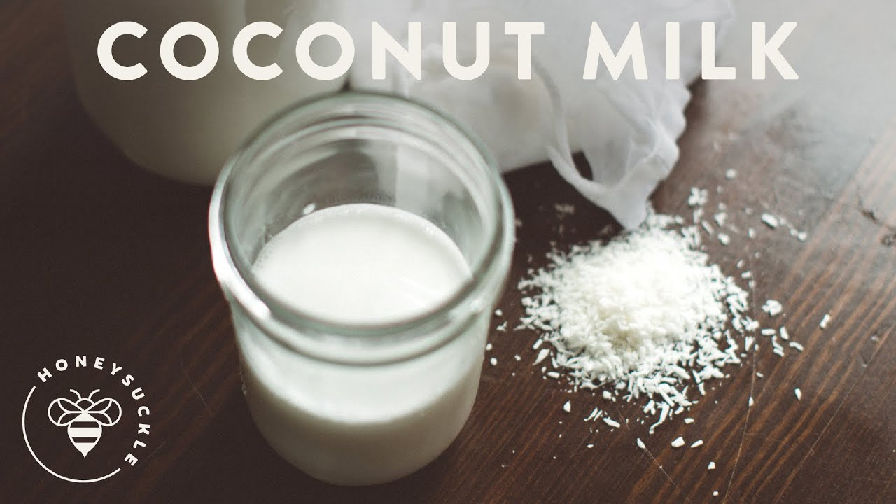 how to make coconut milk honeysuckle youtube. Black Bedroom Furniture Sets. Home Design Ideas