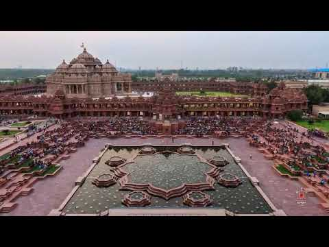 Akshardham   Musical Fountain Light and Sound show : Beautiful must watch