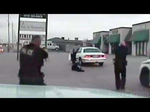 Dashcam Video Of Tulsa Police Officers Fatal Shooting Rape Suspect